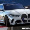 キドニーグリルは完全にネタにしかなっていない…2021年モデル・BMW新型「M3」の予想レ