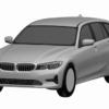 BMW・新型「3シリーズ・ワゴン」のパテント画像がリーク。鋭さはあるものの、若干クロ