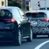日産の新型ノート・オーラの開発車両がまたまたスパイショット!しかも後続には2021年