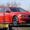 BMW・新型「3シリーズ・ツーリング」の開発車両をキャッチ。フロントは完全にカモフラ