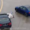 BMW「M5」がドリフトしながらダブルギネス記録達成。ドリフト中の給油も見ものだ【動