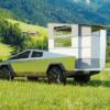 まだ納車されていないテスラ新型サイバートラックをキャンピングカー仕様にカスタム!
