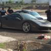 【悲報】メキシコにて、イエローカラーのフェラーリ「488GTB」が盗難に→ブラックに全