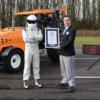 トップギヤが生み出した究極のトラクター「Track-tor」が世界最速でギネス記録認定へ