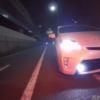 今日のプリウス…神奈川県にてトヨタ・プリウスのドライバーがバイク乗りに過激なあお