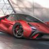 これが「ラ・フェラーリ」の後継モデル?まるでケーニグセグっぽいデザイン、スタイリ