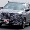マイナーチェンジ版・日産・新型「キックス」の開発車両が目撃に。ダイナミックなフロ