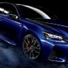 2020年モデル・レクサス新型「GS F」が一部改良。専用ブラックホイールやブルーのブレ