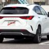フルモデルチェンジ版・レクサス新型NXの開発車両を久々スパイショット!カモフラージ