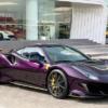 そのカラー名は「ヴィオラ香港」。今まで見てきた中で最も過激なフェラーリ「488ピス