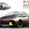 トヨタ・次期「MR2」のレンダリングが公開。ハイブリッド又はオールエレクトリックモ