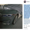 BMW・新型「7シリーズ」のフロントフェイスがリーク。とりあえずキドニーグリルがデカ