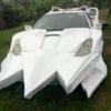 フロントの攻撃力がかなり高そうだ。ウガンダにて、世界で最も不気味なトヨタ・セリカ