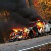 日産「GT-R」が大炎上。火災の原因はブレーキによって引っかかった落ち葉が原因?!