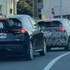日産の新型ノート・オーラの開発車両をスパイショット→後続を走っていた新型ノートe-P