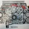スバルが提供した「WRX STI」EJ20エンジンの塗り絵を最速で完成させた猛者現る!作業