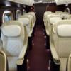 """北陸新幹線「かがやき」の最上位車両""""グランクラス""""に乗ってきた。まさに新幹線のファ"""