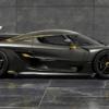 その名はケーニグセグ新型ジェスコ・オーディン。フルカーボンボディにゴールドフレー