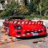 モナコにて発生した直管仕様のフェラーリ「F40」の大炎上事故は燃料タンクの劣化が原