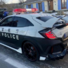 フランスにて警視庁パトカーのレプリカを走らせた男が逮捕。しかもベースはホンダ・シ