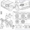 フルモデルチェンジ版・トヨタ新型ランドクルーザー300の図面(技術情報)が完全リーク
