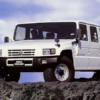 【何と左ハンドルは僅か12台のみ!】トヨタが陸上自衛隊向けに製造した「メガクルーザ