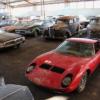 フランスの納屋にて、希少なランボルギーニ「ミウラ」やポルシェ「356 Pre-A」、ジャ