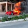 これマジか…モナコにて貴重なフェラーリ「F40」が大炎上。実は過去に直管仕様モデルと