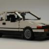 頭文字D(イニシャルD)好きは朗報!レゴ(LEGO)仕様の・トヨタ「AE86」がユーザーのサポ