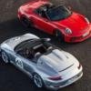 ポルシェ「911スピードスター」が遂に販売開始。限定1,948台のみ、価格は約3,070万円
