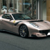 """そのボディカラー名は""""ブロンゾ・マサル""""。関東にてランボルギーニの特別カラーに身を"""