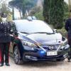 日産リーフがイタリア・カラビニエリ警察に52台も納車!スズキ・ジムニー・シエラに続
