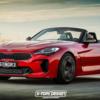 【レンダリング】BMW「Z4」と韓国・起亜(Kia)「スティンガーGT」の禁断の組合せ。意外