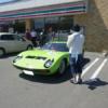 コンビニに停まる数千万円レベルのスーパーカー達。普通なんだろうけどナゼかシュール