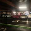 台風19号対策?埼玉県三郷ららぽーとの立体駐車場に「エンツォ・フェラーリ」やランボ