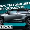 遂に来た!トヨタ新型BZ4Xが発表前に完全リーク?!トヨタは2025年までに15台のピュア