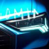 アウディの最新モデル「Q3」のティーザー映像が公開。ヘッドライトのデザインも明確に