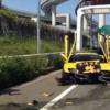 首都高・大黒PA出口でのランボルギーニ・ディアブロによる悪夢の事故再来…今度はBMW・