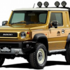 東京AS2019にて、スズキの新型「ジムニー」をウッド調ピックアップトラック仕様を公開