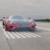 ケーニグセグ「レゲーラ」が0-400-0km/h最加減速記録を更新!「アゲーラRS」よりも2秒