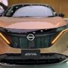 日産のピュアEVクロスオーバー・新型アリアの開発車両を初スパイショット!カモフラー