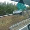 死亡事故の可能性も…関越道にて道路外を駆けのぼる謎の事故が発生。単独事故で居眠り