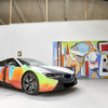 アートアカデミーの絵画教授が、BMW非公式の「i8」アートカーを作成。営利目的一切無