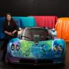 製作期間は4日。サウジアラビア・アーティストによるパガーニ「ゾンダS」のアートカー