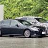 これは珍しい…富山県の道の駅にてフルモデルチェンジ版・レクサス新型NXの開発車両を