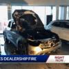 アメリカのメルセデスベンツディーラーにて新型「GLCクラス」が大炎上。原因は不明な