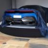 ピニンファリーナデザインのEVハイパーカー「PF0」のリヤデザインが明らかに。非常に