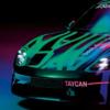 ポルシェ初のオールEVスポーツカー「タイカン(Taycan)」のティーザー画像が遂に公開。
