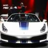 フェラーリ「488ピスタ・スパイダー」がパリデビュー。技術的なスペックについてもよ