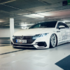 Vossenホイールがフォルクスワーゲン「アルテオン」カスタム。1mm単位で車高調整も可